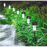 led solar light waterproof landscape lights for pathway patio yard lawn solar led light outdoor garden decoration outdoor lamp