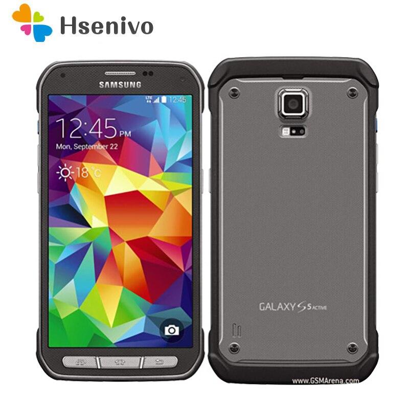 Samsung Galaxy S5 activo G870A reformado-Original Smartphone 5,1