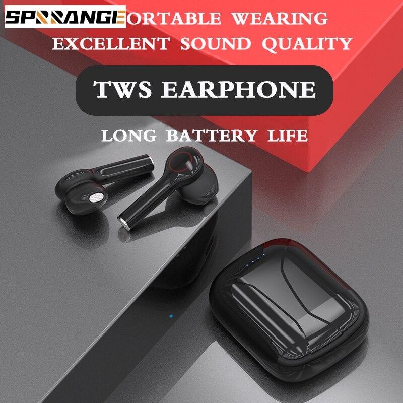 Auriculares TWS con Control táctil, inalámbricos, auriculares manos libres estéreo con micrófono para todos los teléfonos inteligentes honor xiomi