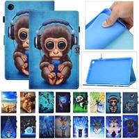 for samsung galaxy tab a7 lite case 8 7 inch cover fashion animal shell for funda samsung tab a7 lite 2021 t220 t225 case kids