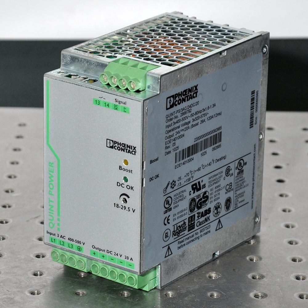 PHOENIX CONTACT QUINT-PS 3AC 24DC 20 power supply Order-No.: 2866792