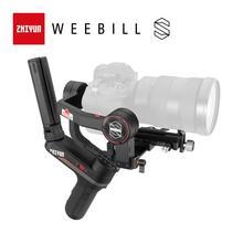 ZHIYUN oficjalna Weebill S 3-osi transmisji obrazu stabilizator do kamery bez lusterek wyświetlacz OLED kardana ręczna New Arrival