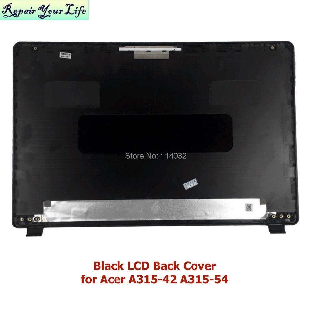 إطارات الكمبيوتر المحمول لشركة أيسر أسباير 3 A315-42 42G A315-54 54K N19C1 LCD الغطاء الخلفي الحافة الأمامية 60.HEFN2.001 الجزء العلوي أسود أحمر