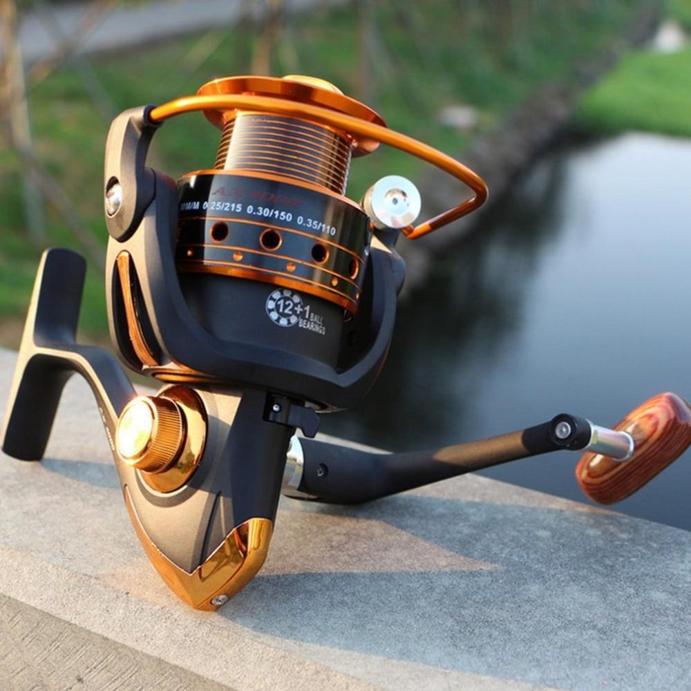 Yomoshi AX500-7000Series спиннинг углеродное волокно сопротивление Сверхлегкая спиннинговая катушка для ловли рыбы в пресноводных водоемах 12 + 1BB спиннинг пластик с металлическим коромыслом