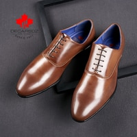Men Shoes 2021 Business Office Lace-Up Dress Shoes Men Brand Fashion Leather Wedding Footwear Men High Quality Formal Shoes