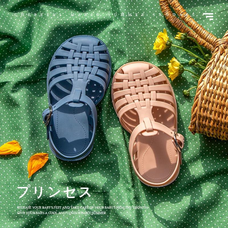 Summer Boys Casual Roman Slippers Children Sandals Baby Girls Toddler Soft Non-slip Princess Shoes K