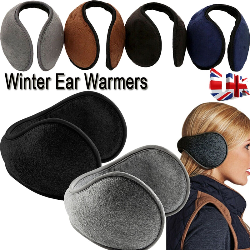 Утепленные меховые наушники для женщин, теплые наушники, зимние аксессуары для женщин