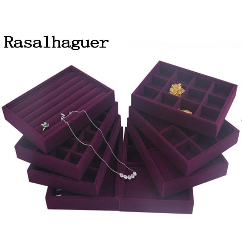 Ювелирные изделия, серьги, ожерелья, подвески, браслеты, держатель лотков, чехлы, бархатные ювелирные изделия, упаковка, дисплей, 20*15*3 см, сде...