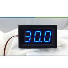5PCS 0,56 zoll 2 Draht Mini LED Display Digital Voltmeter DC 2,5 V-40V Panel Spannung Meter Tester verpolung schutz