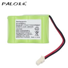 3.6V 400mAh ni-cd téléphone sans fil batterie Rechargeable Vtech BT-17333 BT-27333 BT-163345 BT1733 livraison gratuite