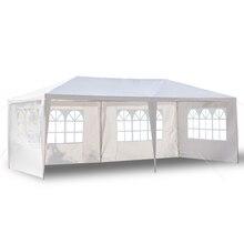 3X6 M Vier Zijden Waterdichte Tent Met Spiraal Tuin Party Patio Outdoor Luifel Zon Muur Zonnescherm Shelter Tarp zijwand Zonnescherm