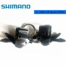Shimano Claris SL-2400 Trigger Shifter 2x8 Geschwindigkeit Rennrad Fahrrad Shifter Hebel 2400 Für Straße Faltrad