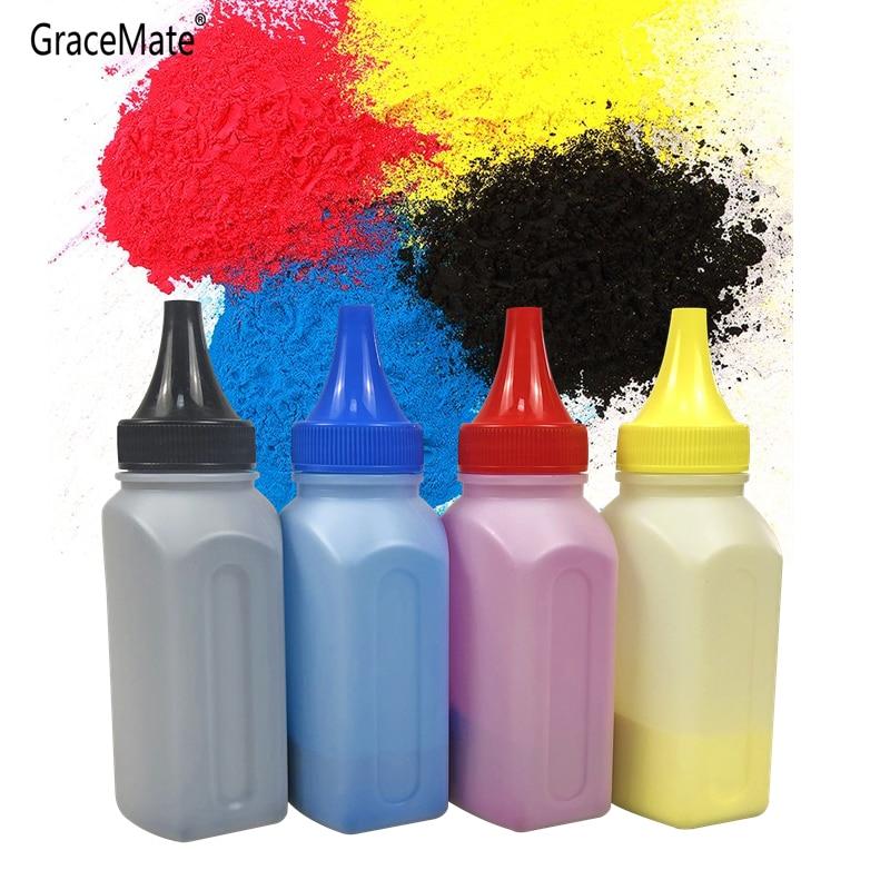 Color Refill Toner Cartridge Powder Compatible for OKI C3300 C3400 C3450 C3520 C3530 C3600 3300 3400 3450 3520 Laser Printer