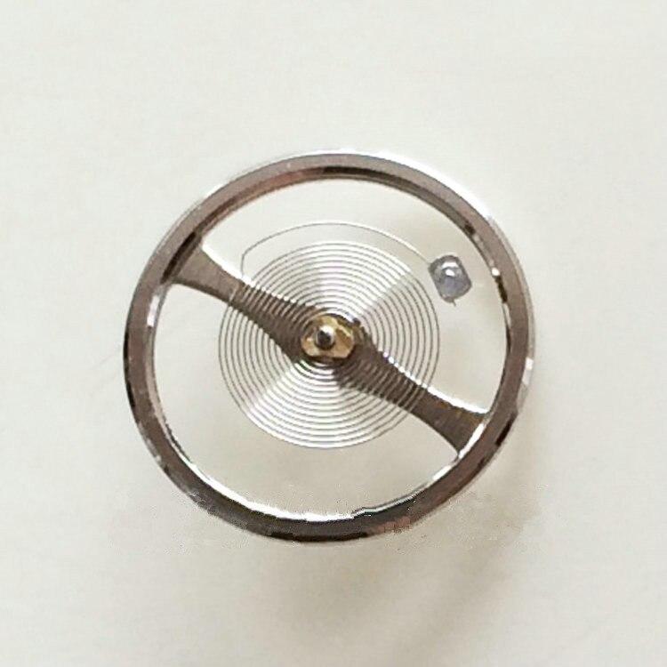 Zapasowy koło zamachowe zegarka ze sprężyną do włosów dla ruchu 7S26C 7S36A B C