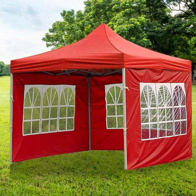 waterproof sunscreen tent multi functional canopy waterproof tent camping tent set beach shade cloth outdoor supplies 1pc 3m Portable Tent Cover Surface Replacement Wedding Party Tent Canopy Cover Rainproof Waterproof Oxford Cloth Garden Shade