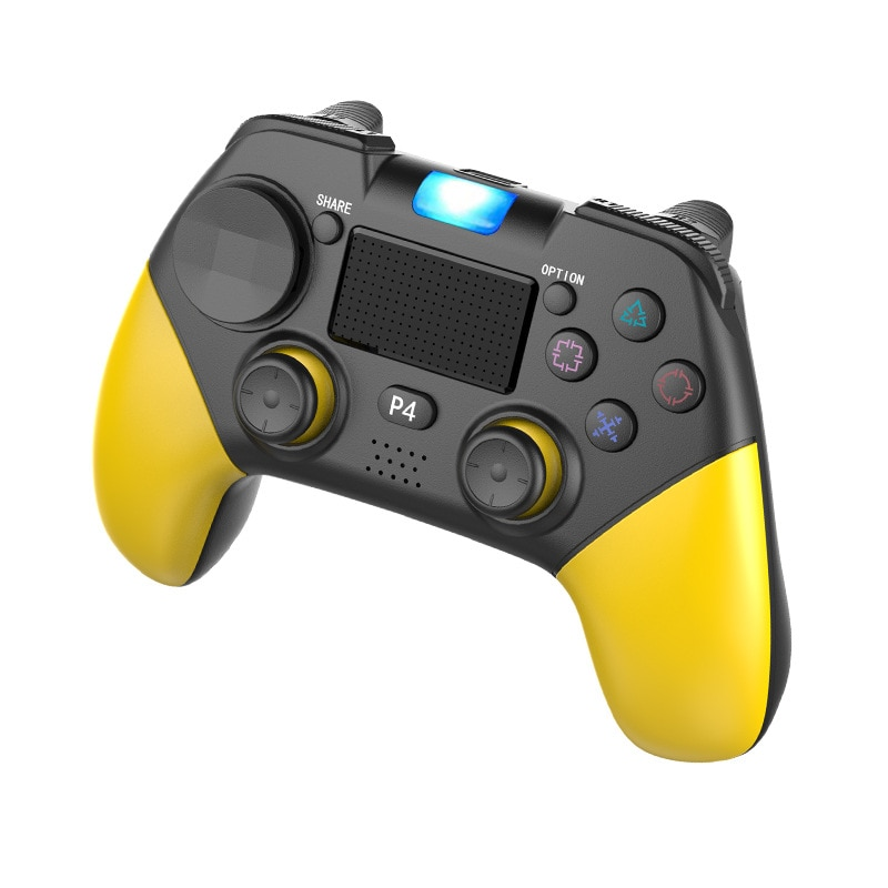 Wireless Bluetooth 4.0 Gamepad Vibration Touch Screen Controller For PS4/PS4 Pro Wireless Console For Tablet PC Smart TV Box