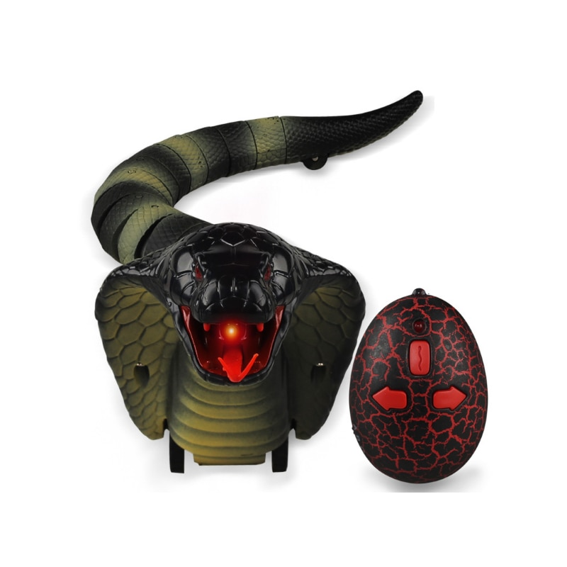RC Dinosaur Snake Remote Control Animal Lizard Triceratops Robots Spider Rat Cobra Insect Caterpilla Pet Kids Toys for Cat Dog enlarge