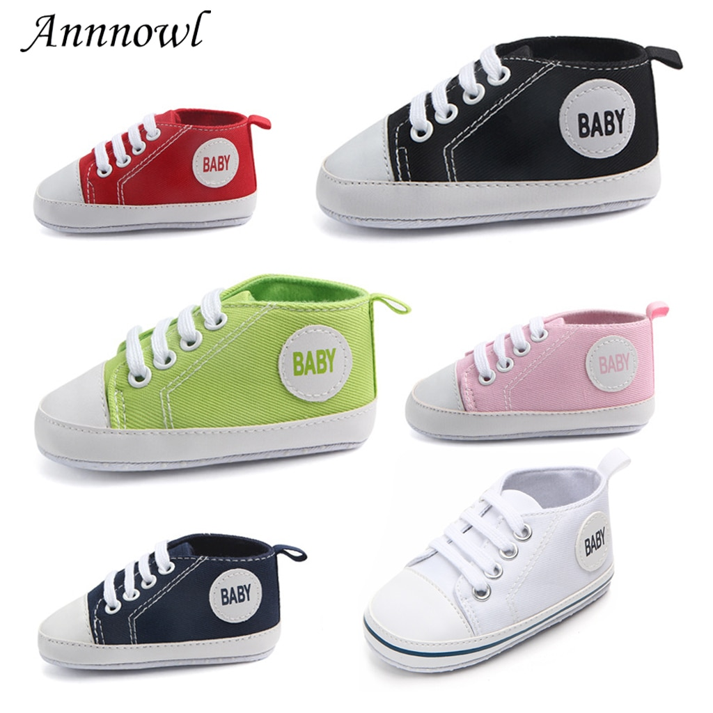 Newborn Baby Girl Shoes for 1 Year Crib Shoes Toddler No-slip Sole Tenis Infant Footwear First Step