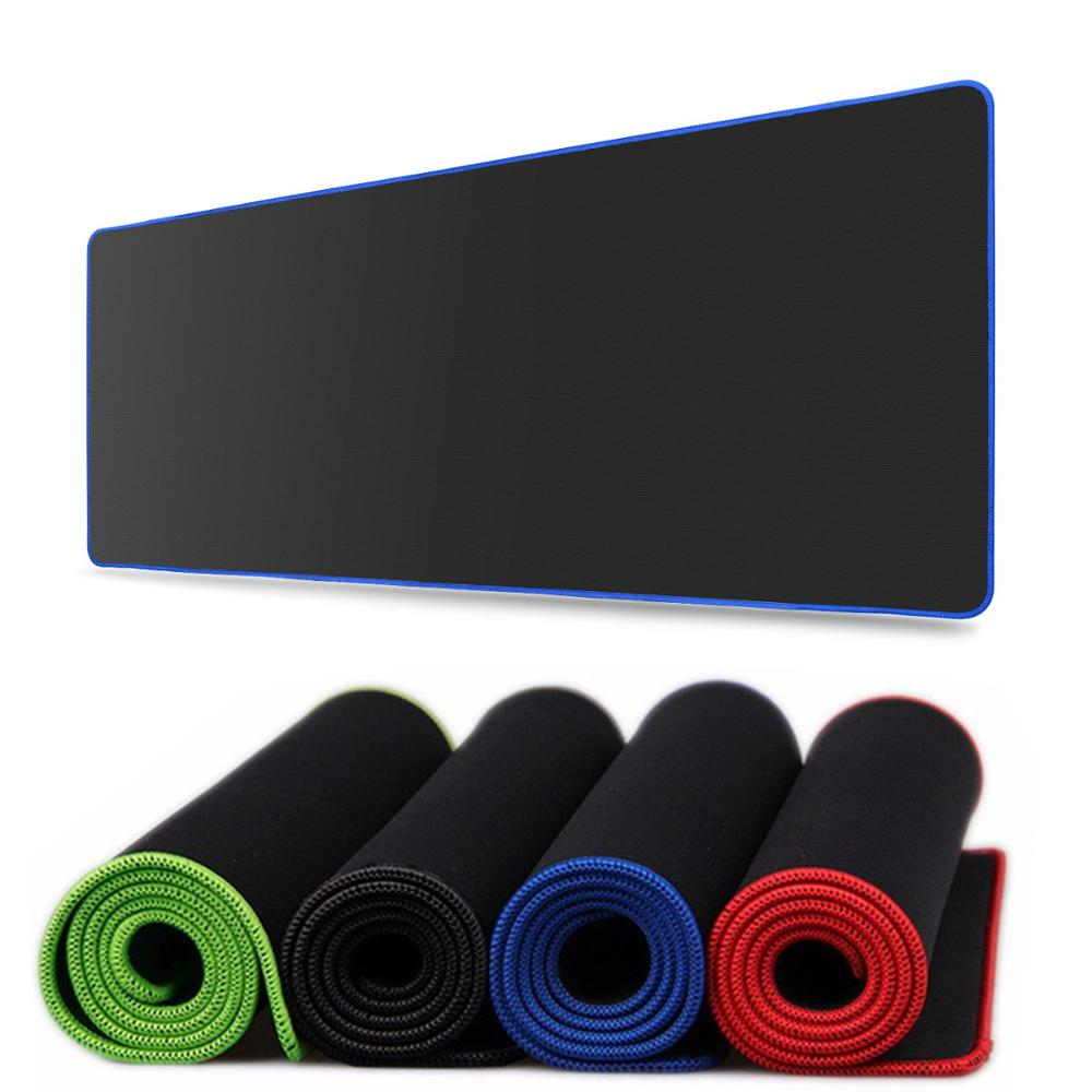 Чистый черный большой игровой коврик для мыши красочный Коврик для мыши коврик для клавиатуры Настольный коврик для ноутбука геймера коврик для мыши