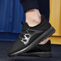 casual sneakers for men lightweight non slip sneakers outdoor breathable jogging shoes comfortable lace up women sport shoes