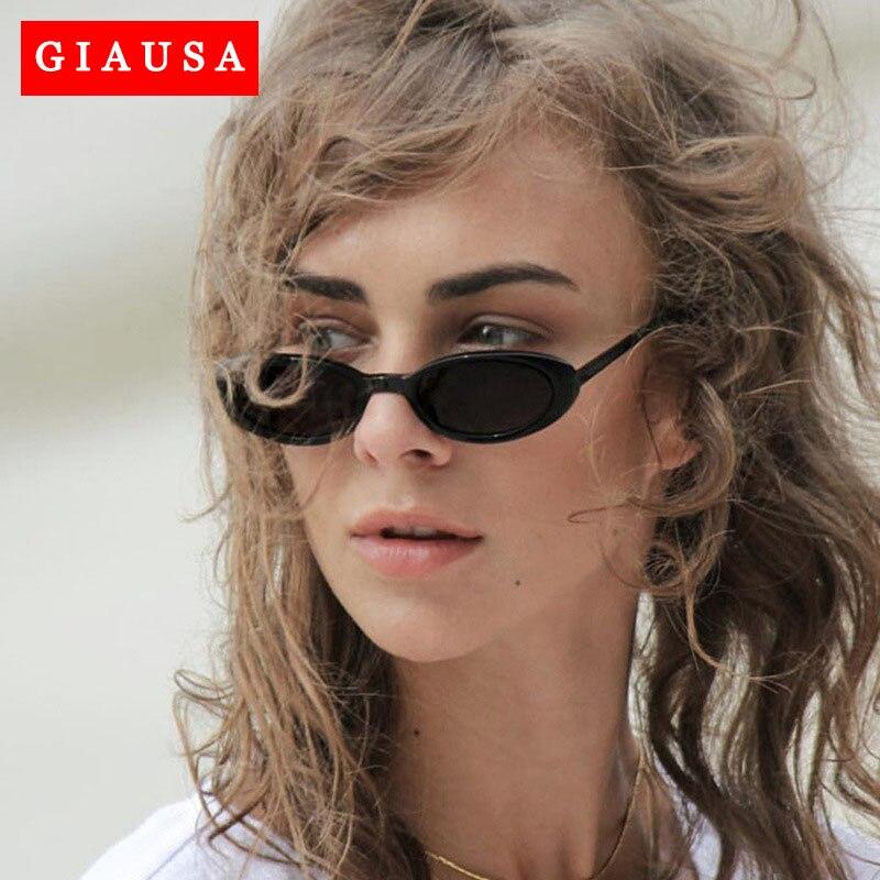 2020 vintage retro óculos de sol moda feminina pequeno quadro óculos de sol em forma de óculos de sol irregular espelho uv400