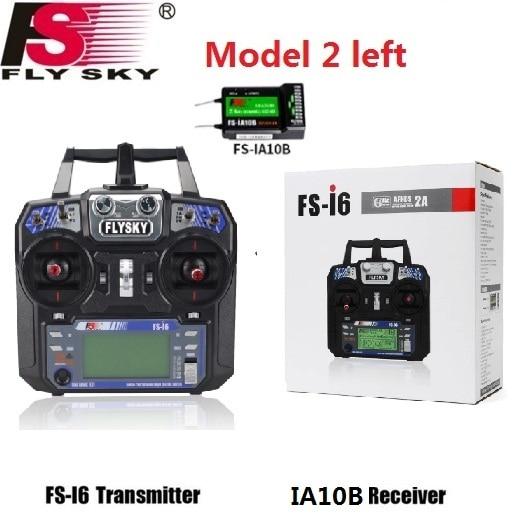 Flysky FS-i6 FS I6 2.4G 6ch RC الارسال تحكم IA10B/FS-iA6 / FS-iA6B استقبال ل RC Quadcopter DIY Drone