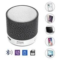 bluetooth speaker mini wireless speaker subwoofer colorful led light portable 20w 15w 400mah built in battery plastic full range