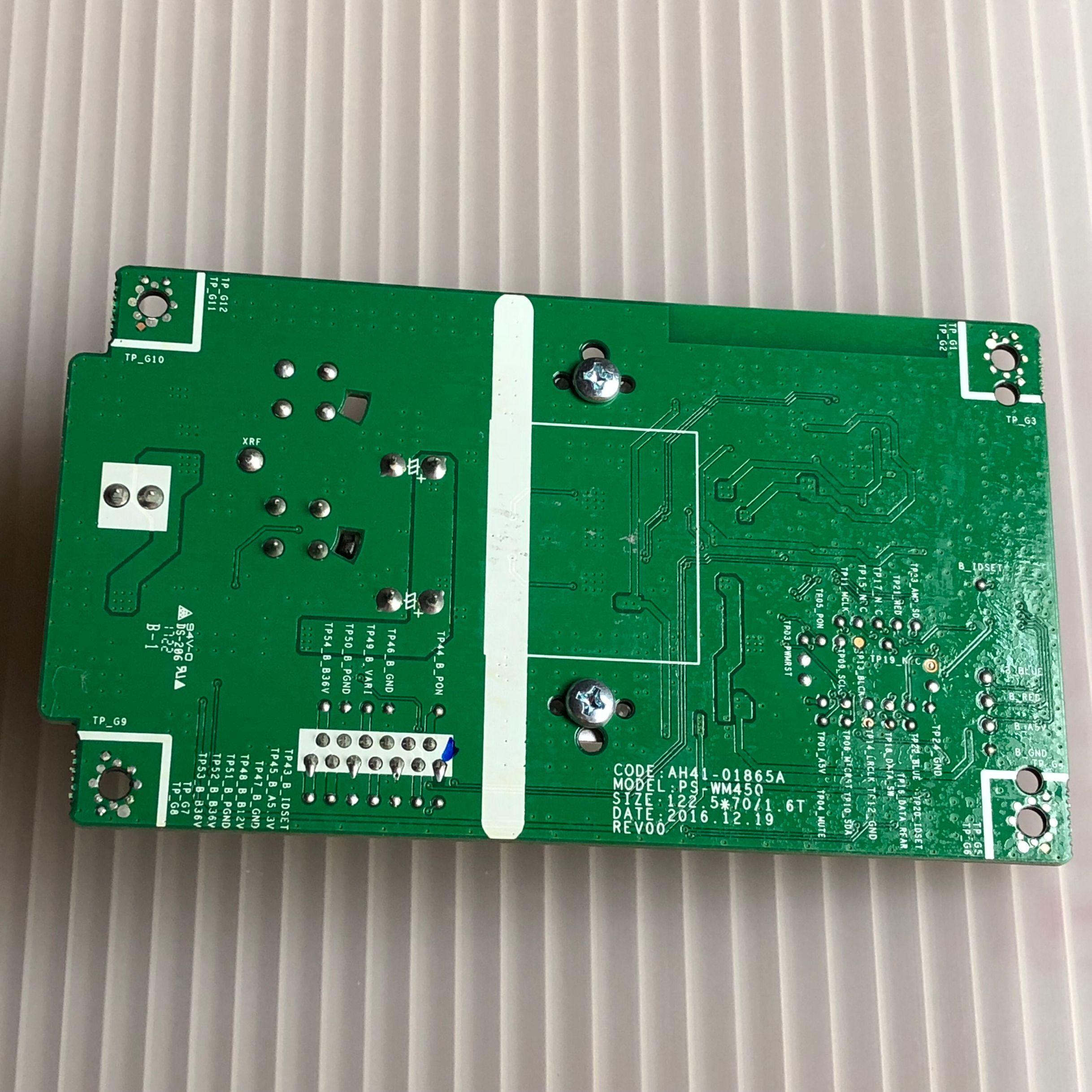 PS-WM450 HW-M450/M550 AH41-01865A TAS5614LA UB2124  Unit for Samsung TV audio multimedia audio power