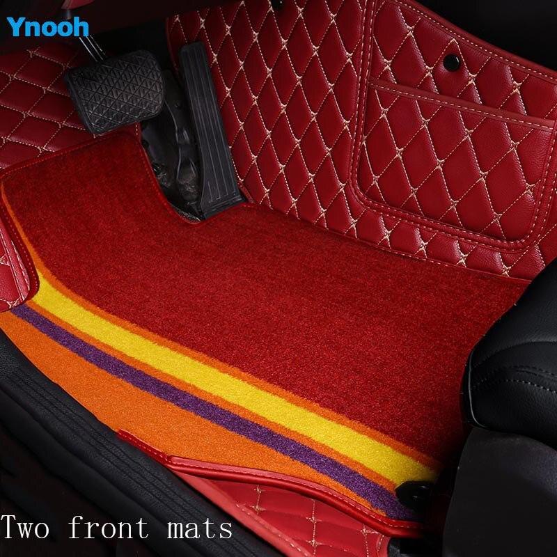Ynooh car mat for suzuki jimny baleno celerio ciaz liana ignis vitara 2019 swift two car accessories
