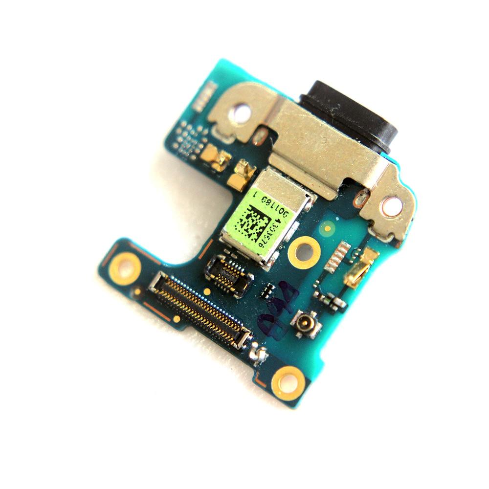 10 unids/lote Tarjeta de puerto de carga USB flex cable para HTC U11 vida Puerto Micro USB conector flex replacement