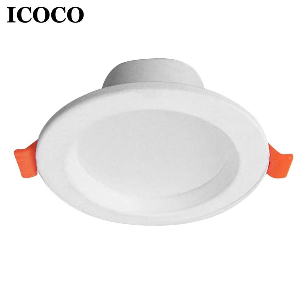 ICOCO 3W/5W Super Bright LED Ceiling Lamp Flush Mount Home Lighting Lamp Anti-glare Living Room Decor Lamp Anti-fog Hotel Lamp