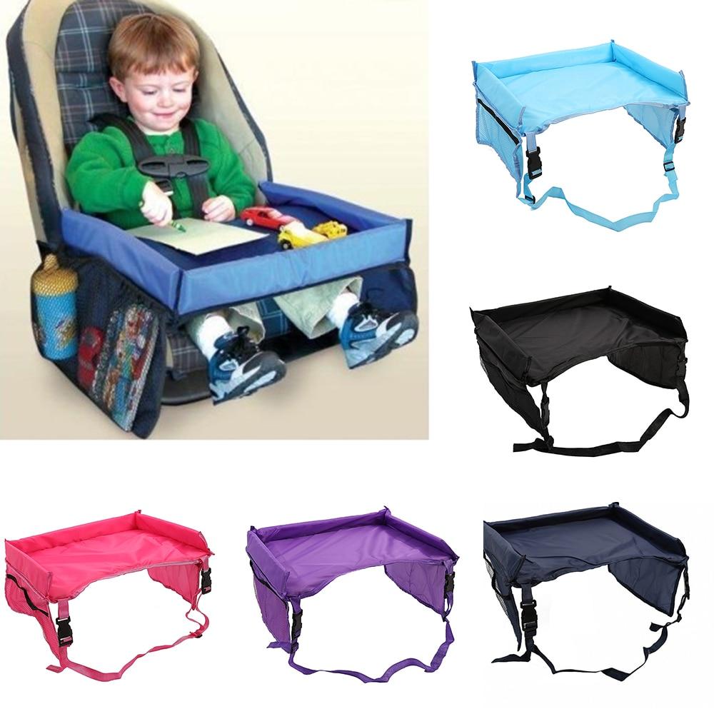 CYSINCOS Детское Автокресло лоток коляска детская игрушка еда вода держатель стол детский портативный стол для автомобиля новый детский стол для хранения