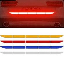 Car Reflective Sticker Warn Body Trunk For vw golf passt jetta mk5 mk6 mk7 Volkswagen POLO TIGUAN Touareg R-Line Car