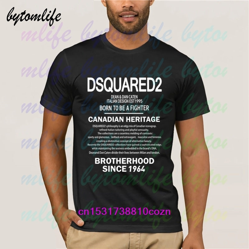 2020 New Fashion DSQ2 T Shirt Mens Summer Black 100% Cotton Short Sleeves Popular Normal Tee Shirts Tops Tee Unisex