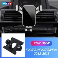 for bmw 1 2 series f20 f21 f22 f23 f24 2012 2018 car mobile phone holder gravity stand gps air vent mount bracket accessories