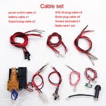 Kabel Set Verdrahtung für 6.0/6,0 S Haupt Board Remote Controller System für Heng Lange 1/16 RC Tank Modell HL