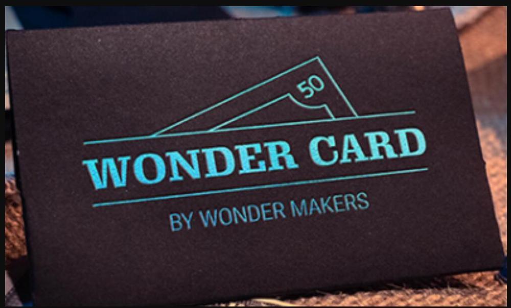 Wonder Card de Wonder Makers-truco de magia