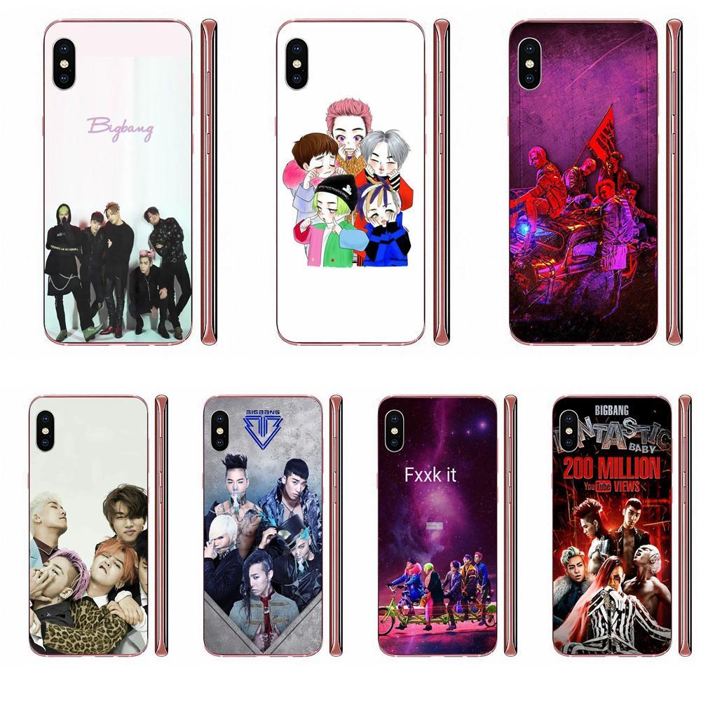 For Samsung Galaxy A51 A71 A81 A90 5G A91 A01 S11 S11E S20 Plus Ultra New Personalized Print Mobile Phone Shell Bigbang - Kpop
