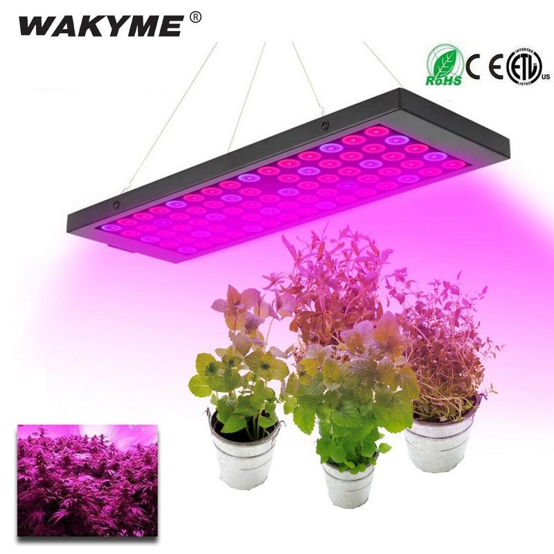 WAKYME 600W LED Grow Light Full Spectrum Plant Lighting Growing LED Lamp for Hydroponic Indoor Veg Flower Plant Lamp Chandelier