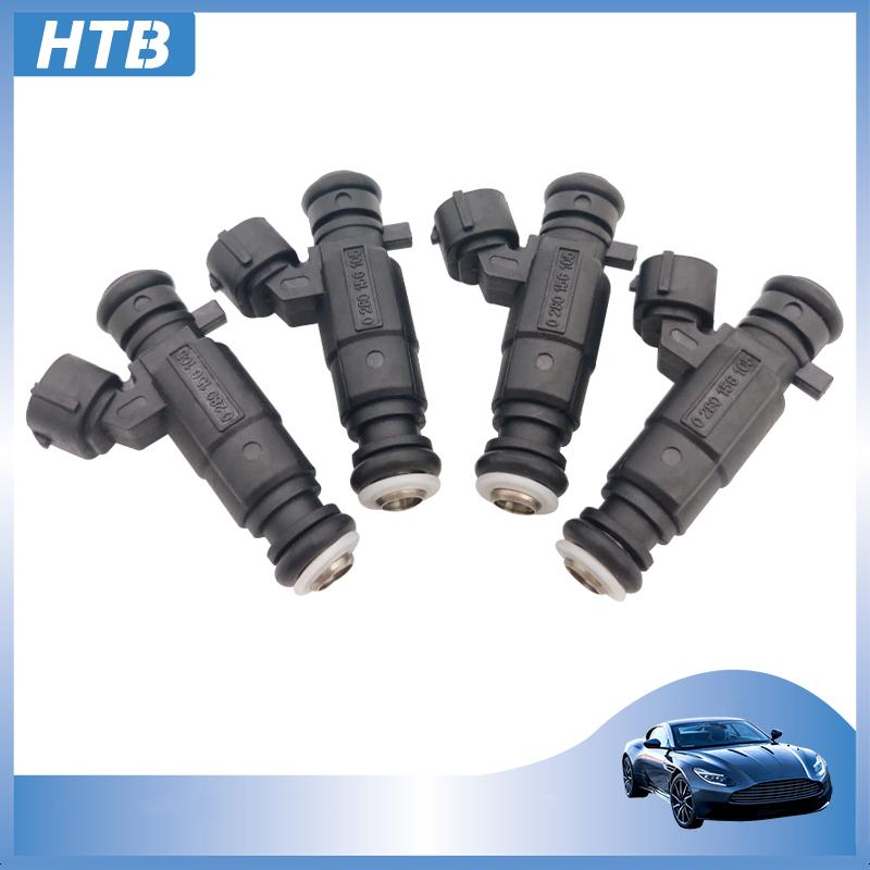 Inyector de combustible de alta calidad, 4 piezas, 0280156105 079133551A, ALLROAD para AUDI A8 L 3,7 4,8 A6 6cyl 4.2L 2003-2014, inyección de coche