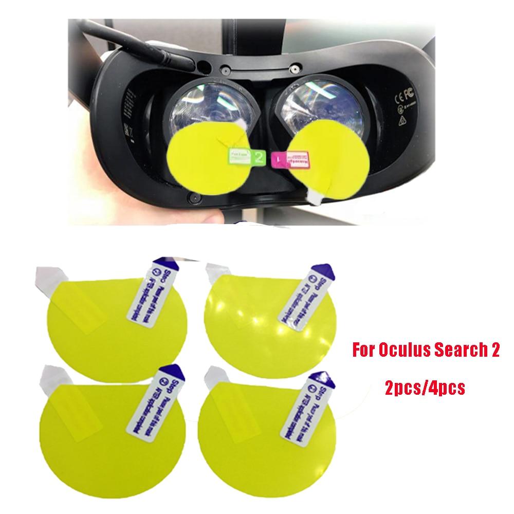 vr accessories for oculus quest 2 vr glasses tpu soft film vr lens protector h d film anti scratch for for oculus quest2 4pcs VR Screen Protectors for Oculus Search 2 Index Headset Helmet VR Glasses Anti Scratch Lens Protector Cover Film