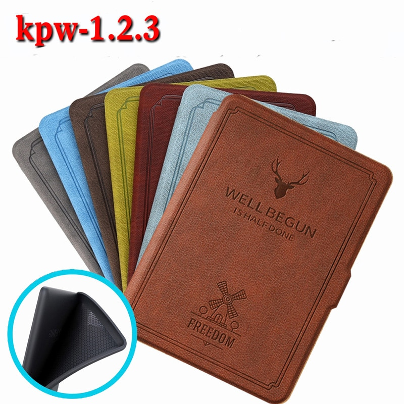 Kindle Paperwhite softCase for Kindle Paperwhite 3/2/1 Cover with Auto Sleep/Wake for Kindle Paperwhite 2017/2015/2013/2012 недорого
