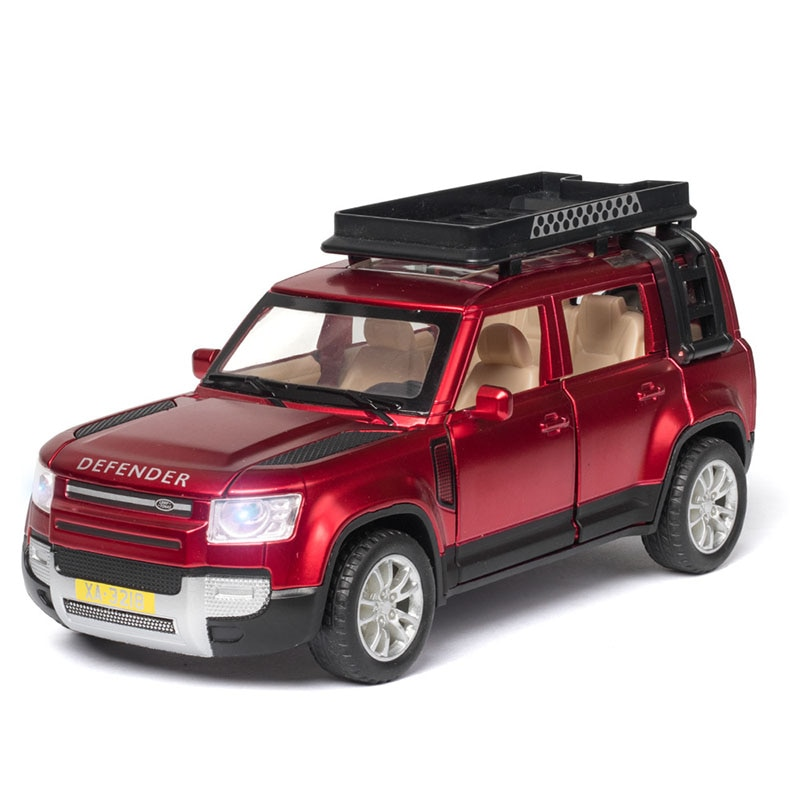 1:32 Children's Toy Alloy Car Off Road Vehicle Model Diecast Metal Toy Car Sound Light Pull Back Car Doors Open Kids Toys Cars 1 24 diecast car model metal toy vehicle suv alloy car wheels sound and light doors open pull back car boys toys cars kids gift