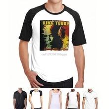 جديد الملك توبي Dubmaster الكهربائية الموسيقى أسطورة الرجال قميص أسود حجم S-3XL(1)