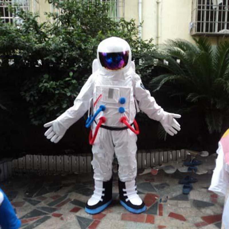 Spaceman mascote traje ternos cosplay jogo de festa fantasia vestido roupas publicidade promoção carnaval dia das bruxas adultos desfile novo