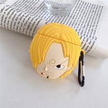 cute 3D Cartoon One Piece Xiangji Shishan Silicone Earphone Case For Apple new AirPods 1/2 Wireless bluetooth Headset cover