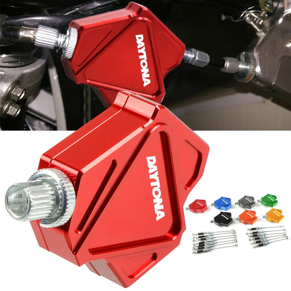 For TRIUMRH DAYTONA675 DAYTONA675R DAYTONA 675 675 R Motorcycle Accessories CNC Aluminum Easy Pull Stunt Clutch Lever System