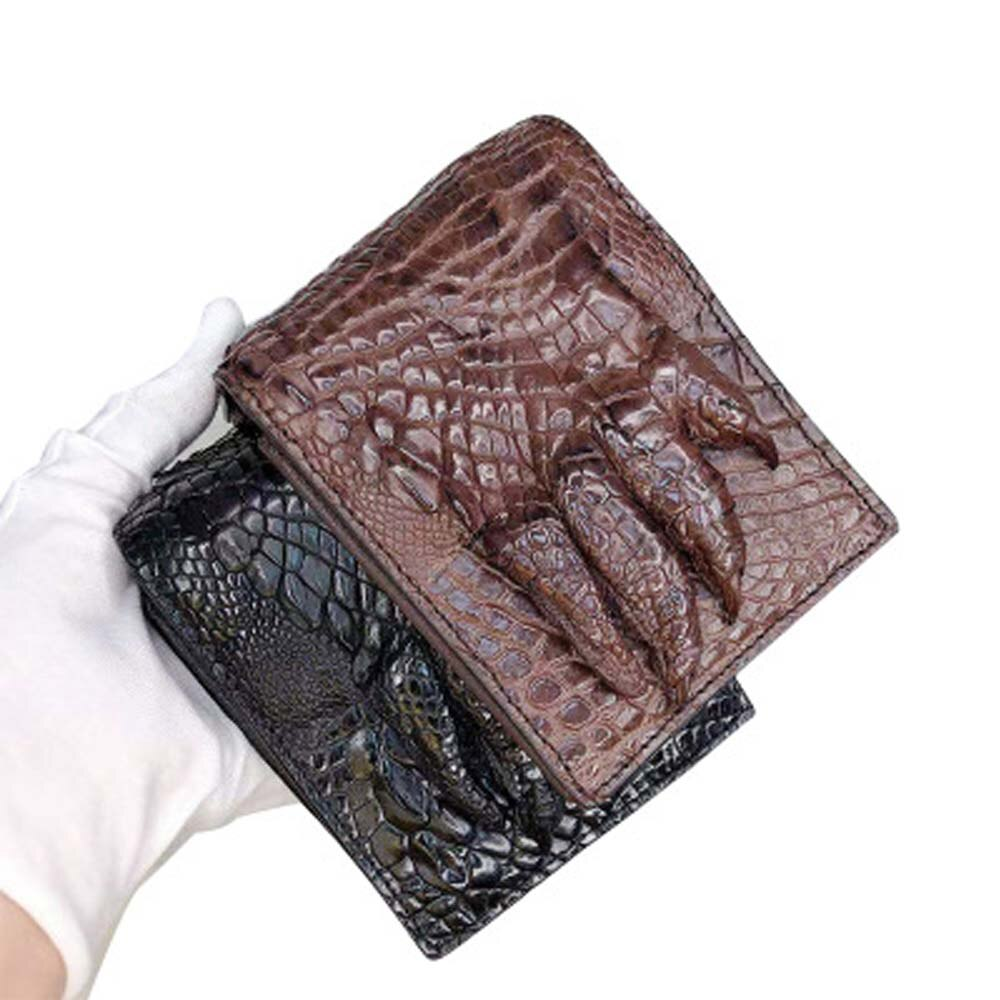 ejiang new  crocodile  men wallet  male  business  crocodile leather  Brief   More screens  crocodile  claws  male  wallet