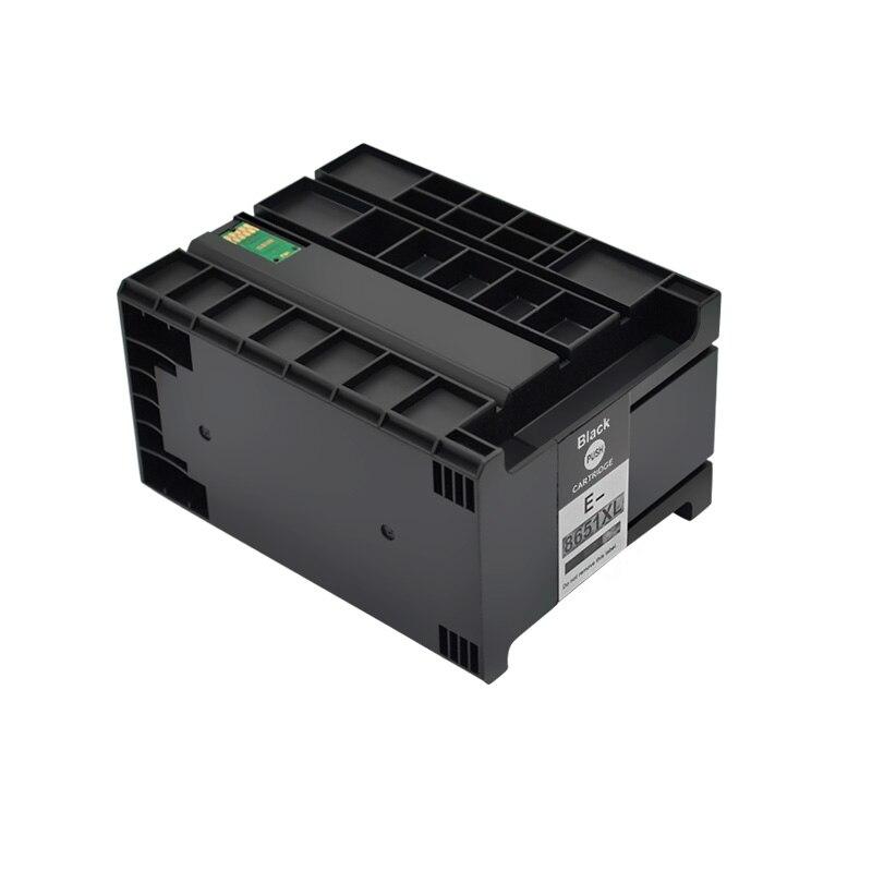 10 шт. совместимый чернильный картридж T8651 T8651XL пигментные чернила для EPSON WorkForce Pro принтеров WF-M5191 WF-M5190
