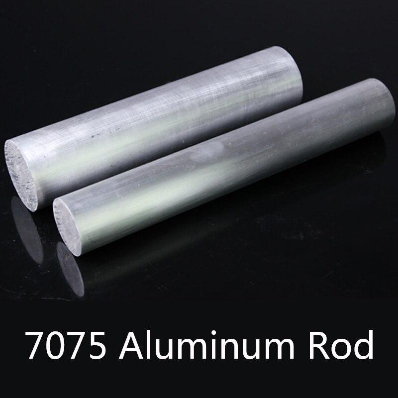 7075 aluminium Stange Solide Super Harte Aluminium Runde Stangen Verwendet In Luftfahrt Nautischen Industrie Durchmesser 8/10/12/20/30/40mm